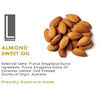 ALMOND OIL SWEET 100% PURE NATURAL BASE CARRIER OIL 500ML