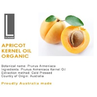 APRICOT KERNEL OIL ORGANIC 100% PURE NATURAL BASE CARRIER OIL 1 Litre