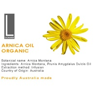 ARNICA OIL 100% PURE NATURAL OIL ORGANIC Therapeutic Grade 100ML
