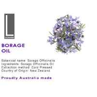 BORAGE OIL 50 ML PURE NATURAL OIL
