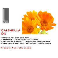 CALENDULA OIL 100% PURE CERTIFIED ORGANIC Therapeutic Grade 1 Litre