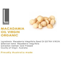 MACADAMIA OIL 1 LITRE  VIRGIN