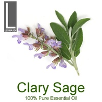 CLARY SAGE 100% PURE ESSENTIAL OIL 10ML AROMATHERAPY