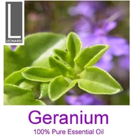 GERANIUM 10 ML PURE ESSENTIAL OIL AROMATHERAPY GRADE