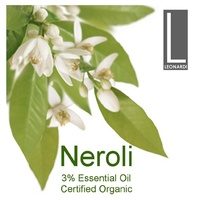 NEROLI 3% 50 ML PURE ESSENTIAL OIL AROMATHERAPY GRADE