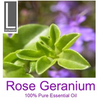 ROSE GERANIUM 50 ML PURE ESSENTIAL OIL AROMATHERAPY GRADE