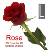ROSE 3% PURE ESSENTIAL OIL CERTIFIED ORGANIC 100ML AROMATHERAPY GRADE
