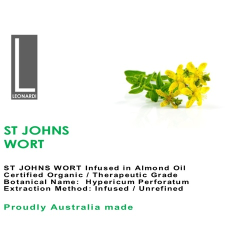 ST JOHNS WORT 200 ML INFUSED MACERATED OIL